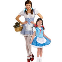 Dorothy Wizard of Oz Mommy and Me Costumes