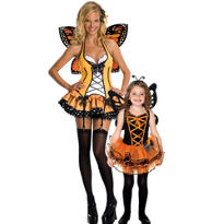 Beautiful Butterfly Mommy And Me Costumes