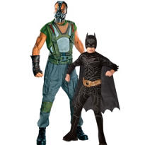 The Dark Knight Rises Daddy and Me Costumes