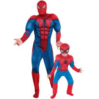 Spider-Man Daddy and Me Costumes