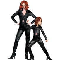 Black Widow Mommy and Me Costumes