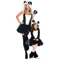 Panda Mommy and Me Costumes
