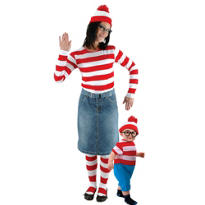 Where's Waldo Mommy and Me Costumes