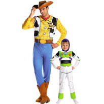Buzz Lightyear and Woody Toy Story Daddy and Me Costumes