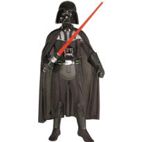 Boys Darth Vader Costume Deluxe - Star Wars