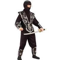 Boys Deadly Ninja Warrior Costume