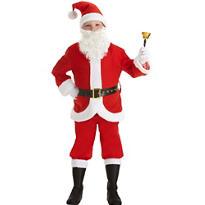 Boys Santa Suit