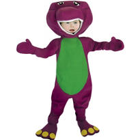 Toddler Boys Barney Costume