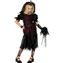 Girls Prom Queen Zombie Costume