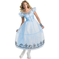 Adult Alice Costume Deluxe - Tim Burton's Alice in Wonderland