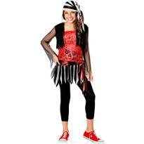 Teen Girls Pirate Lass Costume