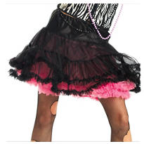 Pink and Black Skirt