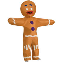 Adult Gingerbread Man Costume - Shrek Forever After