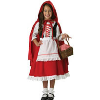 Girls Little Red Riding Hood Costume Elite