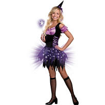 Teen Girls Light-Up Switch Witch Costume
