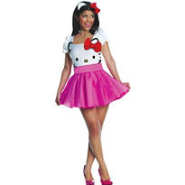Adult Hello Kitty Costume