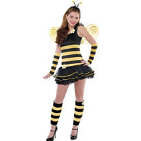 Teen Girls Sweet Bee Costume