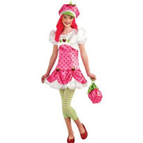 Teen Girls Strawberry Shortcake Costume