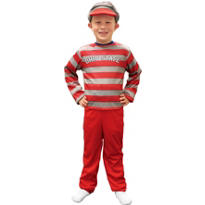 Child Ohio State Buckeyes Mascot Costume