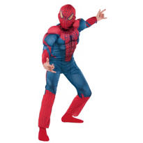 Boys Spider-Man Muscle Costume - The Amazing Spider-Man