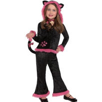 Toddler Girls Kuddley Kitty Costume - Cat