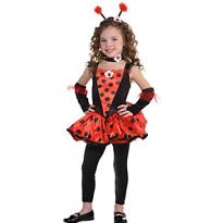 Girls Totally Ladybug Costume