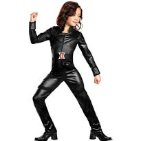 Girls Black Widow Costume - The Avengers