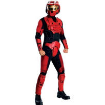 Teen Boys Halo Red Costume Deluxe