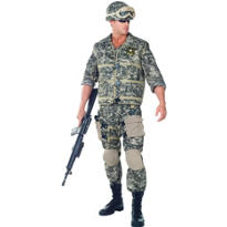 Adult U.S. Army Ranger Costume Deluxe