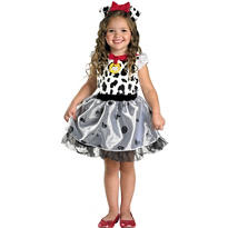 Toddler Girls 101 Dalmatians Costume