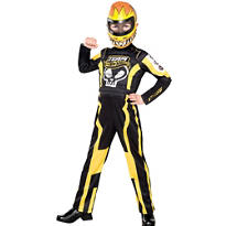 Boys Team Hot Wheels Costume