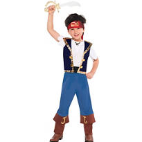 Toddler Boys Jake Costume - Jake and the Never Land Pirates
