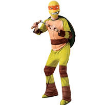 Boys Michelangelo Costume - Teenage Mutant Ninja Turtles