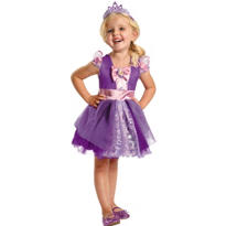Toddler Girls Rapunzel Ballerina Costume