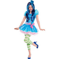 Teen Girls Blueberry Muffin Costume