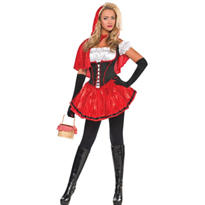 Adult Sassy Red Riding Hood Costume
