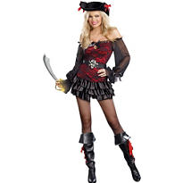 Adult Precious Booty Pirate Costume