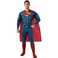 Adult Superman Costume Deluxe - Man of Steel