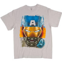 Multi Face Avengers T-Shirt