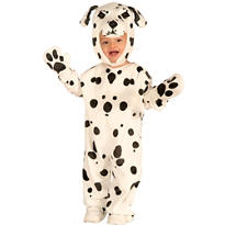 Toddler Boys Plush Dalmatian Costume