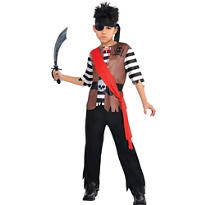 Boys Ahoy Captain Pirate Costume