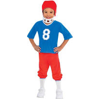 Boys Little Linebacker Football Costume