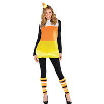Adult Pretty Candy Corn Costume