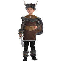 Boys Viking Warrior Costume