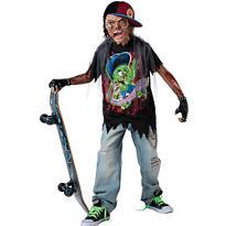 Boys Zombie Skater Costume