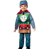 Boys Percy Engineer Costume Deluxe - Thomas & Friends