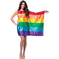 Adult Rainbow Flag Dress