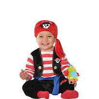 Baby Buccaneer Pirate Costume