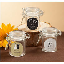 Personalized Small Glass Jars <br>(Printed Label)</br>