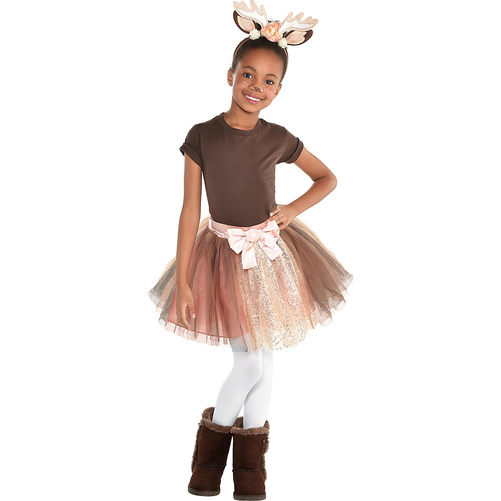 Girls Deer Costume Accessory Kit | Party City